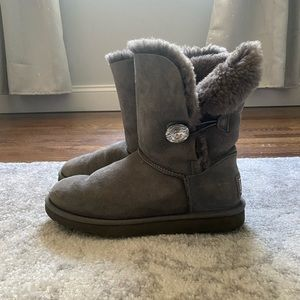 UGG Bailey Bling Button Boots